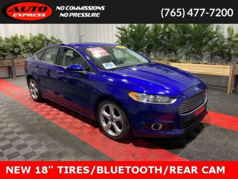 2016 Ford Fusion for sale at Auto Express in Lafayette IN