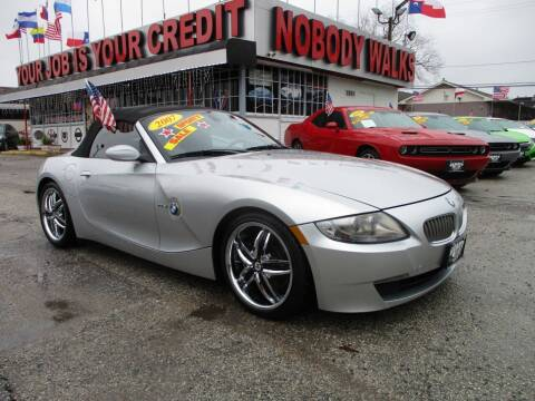 2007 BMW Z4 for sale at Giant Auto Mart 2 in Houston TX