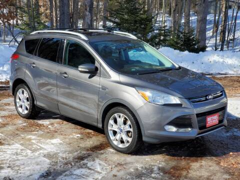 2014 Ford Escape for sale at Bethel Auto Sales in Bethel ME