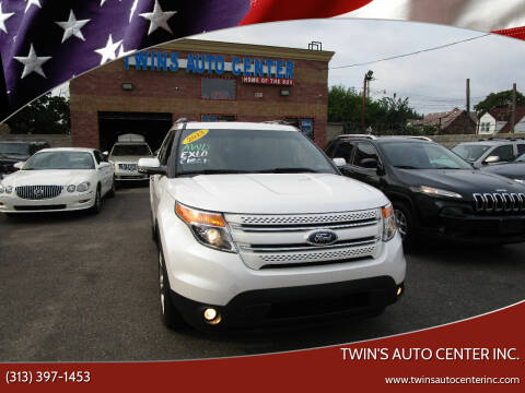 2013 Ford Explorer for sale at Twin's Auto Center Inc. in Detroit MI