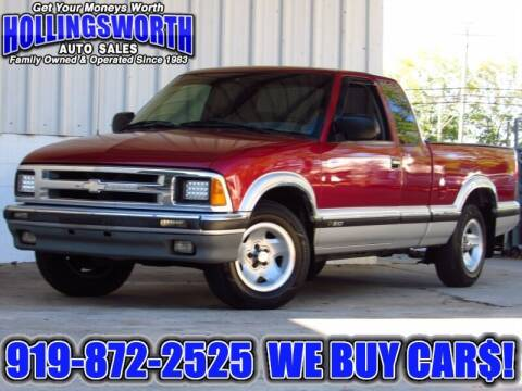 1995 Chevrolet S-10 for sale at Hollingsworth Auto Sales in Raleigh NC
