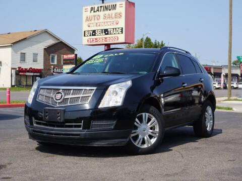 2010 Cadillac SRX for sale at PLATINUM AUTO SALES in Dearborn MI