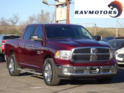 2017 RAM Ram Pickup 1500 for sale at RAVMOTORS in Burnsville MN