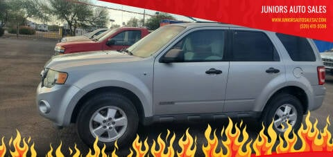 2008 Ford Escape for sale at Juniors Auto Sales in Tucson AZ