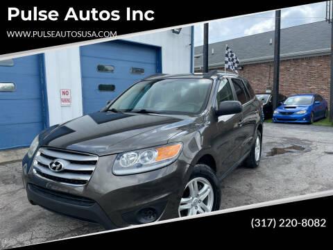 2012 Hyundai Santa Fe for sale at Pulse Autos Inc in Indianapolis IN
