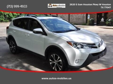2015 Toyota RAV4 for sale at AUTOS-MOBILES in Houston TX
