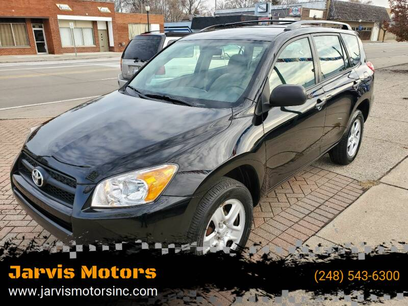 2009 Toyota RAV4 for sale at Jarvis Motors in Hazel Park MI