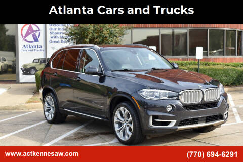 2016 BMW X5 for sale at Atlanta Cars and Trucks in Kennesaw GA