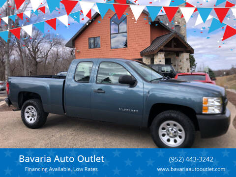 2010 Chevrolet Silverado 1500 for sale at Bavaria Auto Outlet in Victoria MN