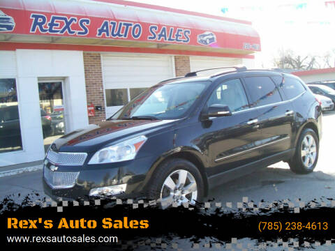 2012 Chevrolet Traverse for sale at Rex's Auto Sales in Junction City KS