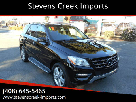 2013 Mercedes-Benz M-Class for sale at Stevens Creek Imports in San Jose CA