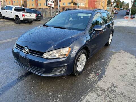 2016 Volkswagen Golf SportWagen for sale at SNS AUTO SALES in Seattle WA
