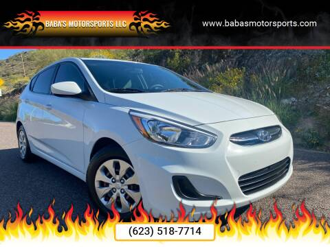2017 Hyundai Accent for sale at Baba's Motorsports, LLC in Phoenix AZ
