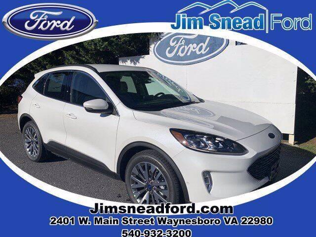 2020 Ford Escape Hybrid for sale in Waynesboro, VA