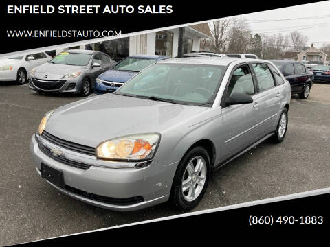 2004 Chevrolet Malibu Maxx for sale at ENFIELD STREET AUTO SALES in Enfield CT
