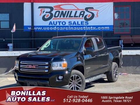 2019 GMC Canyon for sale at Bonillas Auto Sales in Austin TX