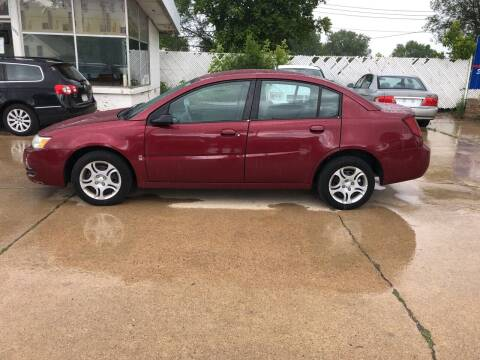 2004 Saturn Ion for sale at Velp Avenue Motors LLC in Green Bay WI