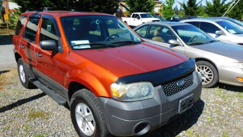 2006 Ford Escape for sale at M & M Auto Sales LLc in Olympia WA