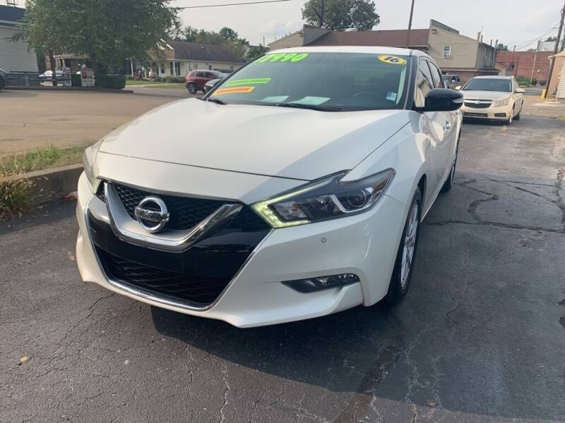 2016 Nissan Maxima for sale at Superior Automotive Group in Owensboro KY