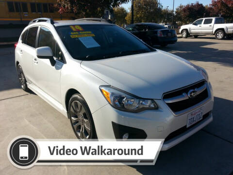 2014 Subaru Impreza for sale at Super Cars Sales Inc #1 in Oakdale CA