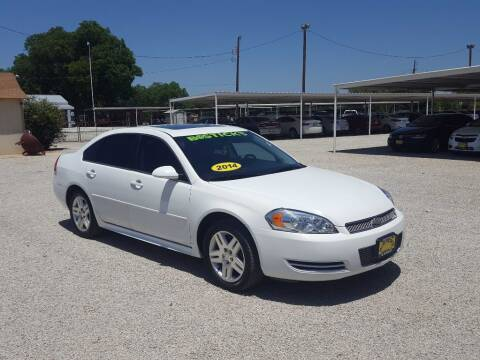 2014 Chevrolet Impala Limited for sale at Bostick's Auto & Truck Sales in Brownwood TX