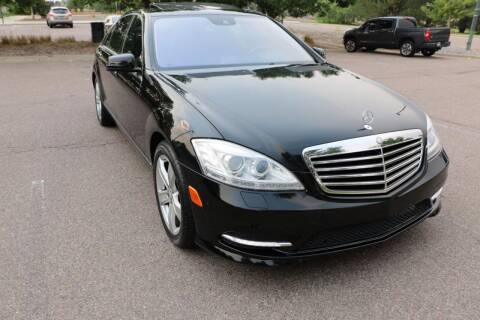 2010 Mercedes-Benz S-Class for sale at Red Rock's Autos in Denver CO
