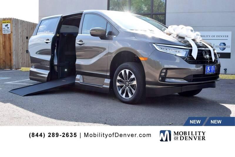 2022 Honda Odyssey for sale at CO Fleet & Mobility in Denver CO