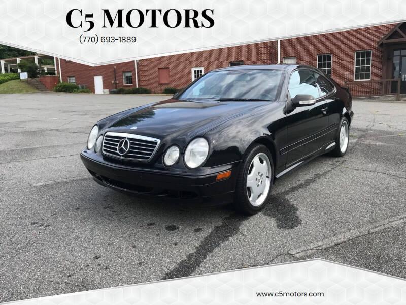 2001 Mercedes-Benz CLK for sale at C5 Motors in Marietta GA