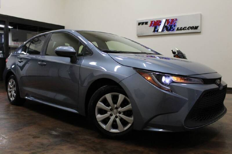 2020 Toyota Corolla for sale at Driveline LLC in Jacksonville FL