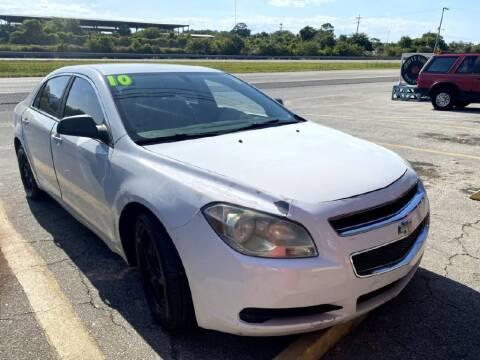 2010 Chevrolet Malibu for sale at ROCKLEDGE in Rockledge FL