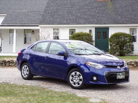 2015 Toyota Corolla for sale at The Auto Barn in Berwick ME