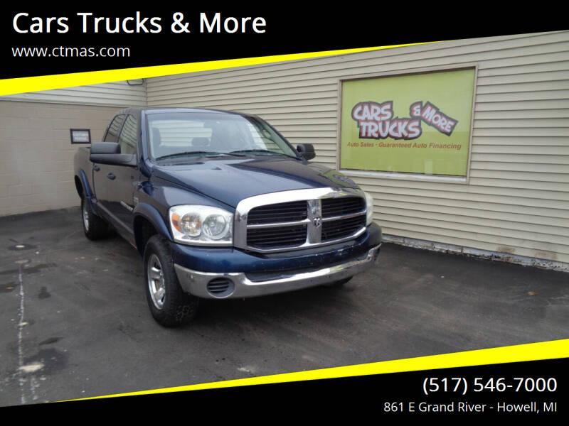 2007 Dodge Ram Pickup 1500 for sale at Cars Trucks & More in Howell MI