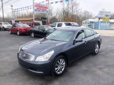 2008 Infiniti G35 for sale at INTERNATIONAL AUTO SALES LLC in Latrobe PA