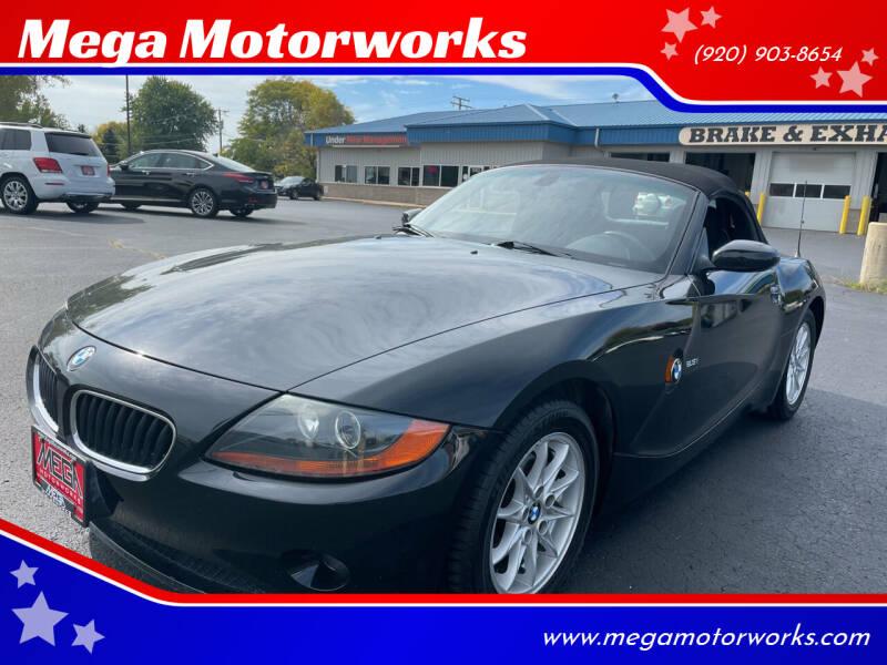 2004 BMW Z4 for sale at Mega Motorworks in Appleton WI