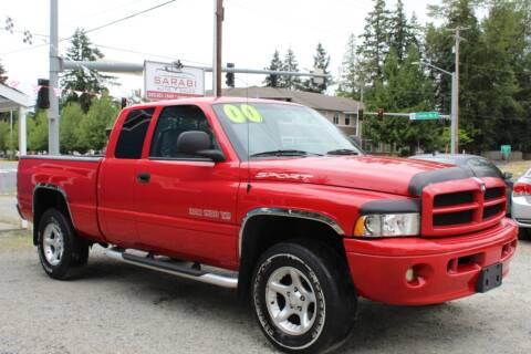2000 Dodge Ram Pickup 1500 for sale at Sarabi Auto Sale in Puyallup WA