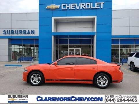 2017 Dodge Charger for sale at Suburban Chevrolet in Claremore OK