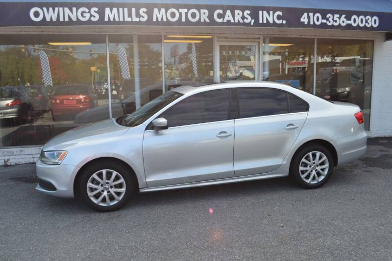 2013 Volkswagen Jetta for sale at Owings Mills Motor Cars in Owings Mills MD