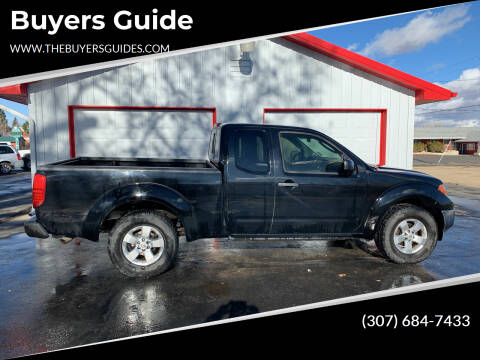 2009 Nissan Frontier for sale at Buyers Guide in Buffalo WY