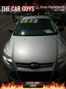 2012 Ford Focus for sale at The Car Guys in Tucson AZ