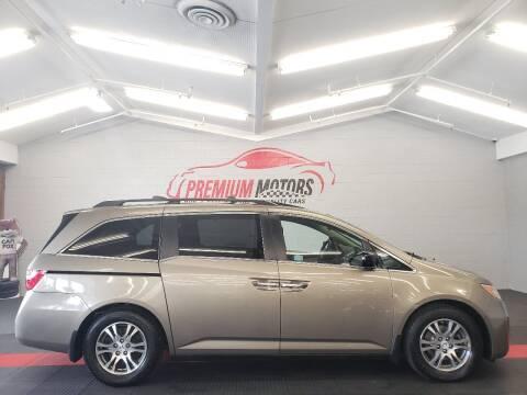 2012 Honda Odyssey for sale at Premium Motors in Villa Park IL