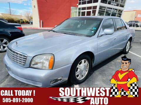 2005 Cadillac DeVille for sale at SOUTHWEST AUTO in Albuquerque NM