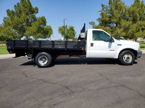 2003 Ford F-350 Super Duty for sale at AZ WORK TRUCKS AND VANS in Mesa AZ