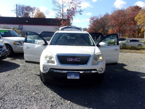 2007 GMC Acadia for sale at Balic Autos Inc in Lanham MD