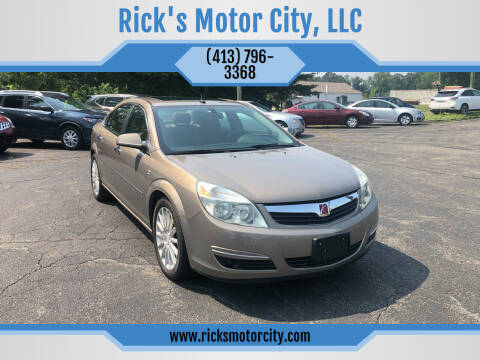 2007 Saturn Aura for sale at Rick's Motor City, LLC in Springfield MA