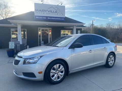 2012 Chevrolet Cruze for sale at Maryville Auto Sales in Maryville TN