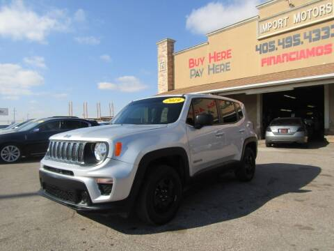 2019 Jeep Renegade for sale at Import Motors in Bethany OK