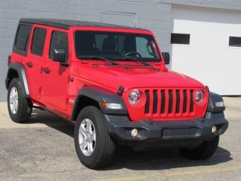 2018 Jeep Wrangler Unlimited for sale at K&M Wayland Chrysler  Dodge Jeep Ram in Wayland MI