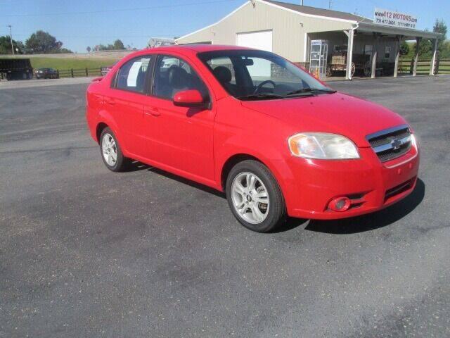 2011 Chevrolet Aveo for sale at 412 Motors in Friendship TN