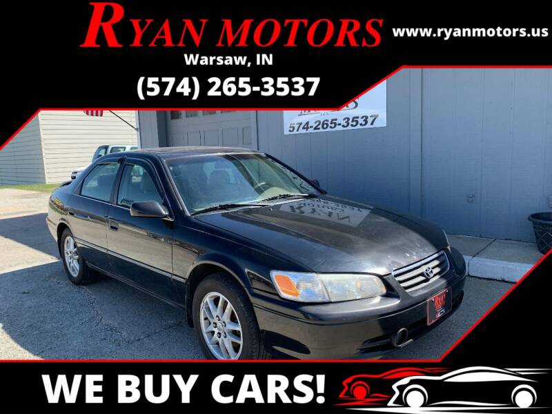 2000 Toyota Camry for sale at Ryan Motors LLC in Warsaw IN