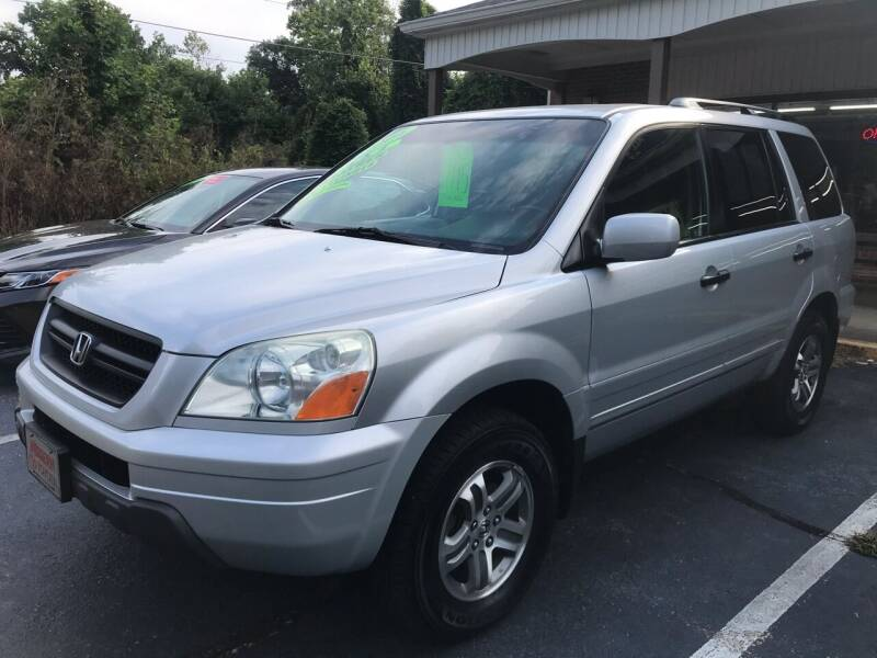 2004 Honda Pilot for sale at Scotty's Auto Sales, Inc. in Elkin NC